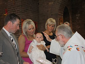 100918 Aine Kelly's Christening at the servite Church Prestwich and after at the LCCC