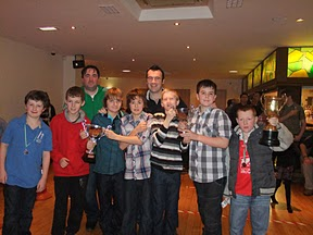 101119 St Lawrences GAA Underage Fundraising Night At IASC
