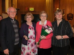 110525 Mary Johnston Gets Award For Services To Irish Community Care
